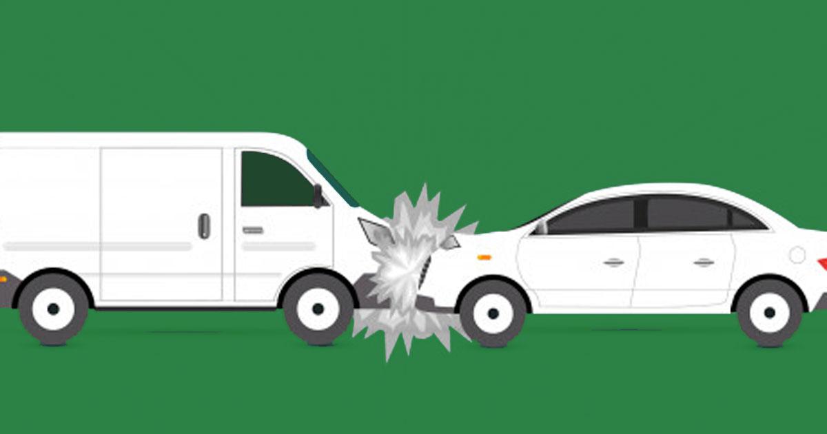 สิ่งที่ควรทำเมื่อรถโดนชน
