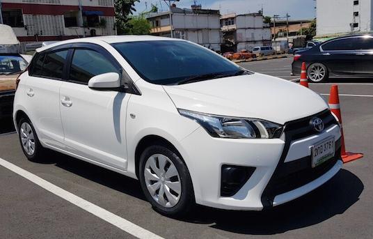 เช่ารถเช่าโตโยต้ายาริส (Toyota Yaris)
